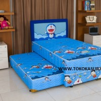 Springbed 2in1 Uniland Uk 120x200 Doraemon Sandaran Fantasy