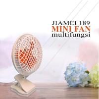 harga Mini Fan Kipas Angin 3 Baling Baling Jepit + Tutup 25w Jm-189 Tokopedia.com