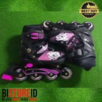 Sepatu Roda Power Aosite Ban Karet PU 7100 Pink + bajaj
