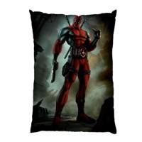 Sarung Bantal Custom Deadpool 45x65 cm gambar 2 sisi #1501