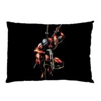 Sarung Bantal Custom Deadpool 45x65 cm gambar 2 sisi #1514