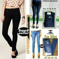 Jual celana jeans wanita / skinny jeans channel Murah