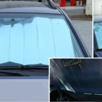 Pelindung Mobil Sinar Radiasi Matahari Alumunium Foil Vision Visor Sun
