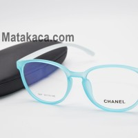 Frame Kacamata Baca / Minus / Plus Chanel 30CH47 Biru