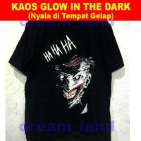 harga Kaos Joker (Glow In The Dark) Batman Supervillain Tokopedia.com