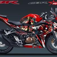Decal stiker New CBR150R Red IronMan