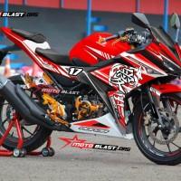 Decal stiker New CBR150R Red Sporty Dragon V1
