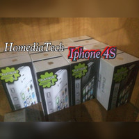 [New] APPLE iPHONE 4S 32GB Garansi 1thn Platinum