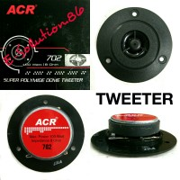 Speaker Tweeter ACR 702 100WATT MAGNET Treble Salon Bulat Audio Sound