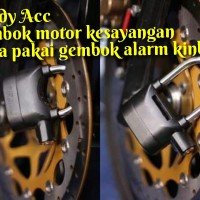 Gembok Alarm Untuk Motor Dan Pagar Rumah Merk Kinbar