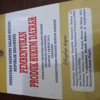 Permendagri : Pembentukan Produk Hukum Daerah No.1 tahun 2014
