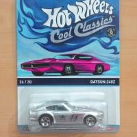 HOT WHEELS DATSUN 240Z SILVER COOL CLASSICS 2014 #26/30