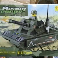 Mainan Lego Tank Army Heavy Corps