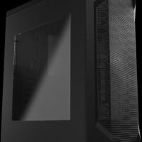 Aerocool LS-5200 Black - Side Window - Include 1 Fan - Fan Controller