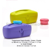 Tupperware Snack Buddy (1pcs) Ungu