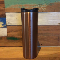 Jual Starbucks Tumbler Reserve Troy Stainless Steel - Copper Gold (limited) Murah