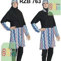 Baju Renang Muslimah Syar'i M, L, XL (Baju & Celana terpisah) - 6