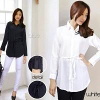 Blouse / Baju / Atasan / Atasan Wanita / Blus / Hitam / Black / Putih