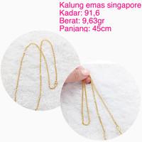 kalung emas singapore 916