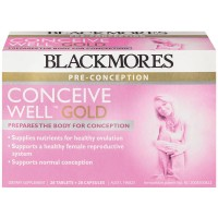 Blackmores Conceive Well GOLD - 28 tabs+28 caps