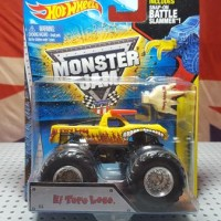 Jual Monster Jam El Toro Loco Baru | Diecast Hot Wheels