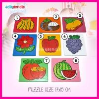 Jual Puzzle - Mainan Edukasi Edukatif Anak Balok Kayu Mdf lucu Warna Murah
