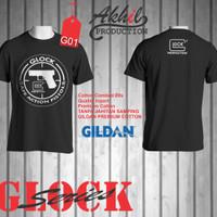 harga Kaos Tactical, Kaos Distro, Weapon, Kaos GLOCK, Gildan Premium Cotton Tokopedia.com
