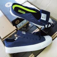 Sepatu Converse Chuck Taylor II Komponen Ori / Biru Navy