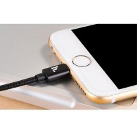 Hoco UPL05 Lightning Braided Cable For IPhone 6/6 + / 5/5s - Black