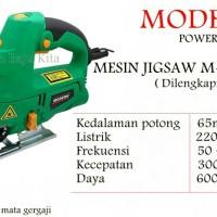 Mesin Gergaji Listrik Jigsaw Modern M-2000L Laser Untuk Kayu Triplek