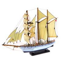 Hadiah Kado Miniatur kapal layar KRI DEWARUCI 40 cm