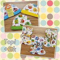 Set Sarung Tangan + Sarung Kaki + Topi Newborn Velvet Murah