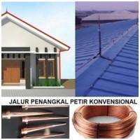PENANGKAL PETIR RADIUS & Konvensional