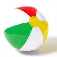 Intex Glossy Panel Ball 41cm. Bola Mainan Anak di Pantai Kolam Renang