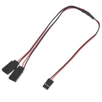 kabel cable servo Y cabang extention male to female 60cm