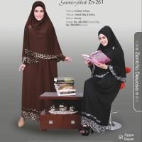Gamis + Jilbab Syari Zenitha 261 - Diskon 25%