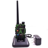Radio Walkie Talky Ht Baofeng Pofung Dual Band Uhf Vhf Uv-5r Loreng