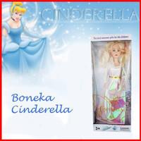 Toko Supplier Boneka Cinderella Barbie White dress ( BOX BESAR )