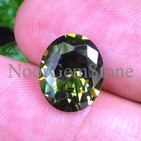 Jual Green Peridot Oval Cutting Murah