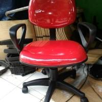 Kursi Kerja Kantor Staf, Receipsionist, Tamu, meeting Komputer Merah