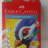 Faber Castell 12 Acrylic Colours