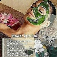 Masker Spirulina | Masker Lumpur Hijau