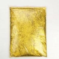 Gold Glitter Bubuk Gliter Powder Serbuk Gliter Supplier Glitter Kiloan