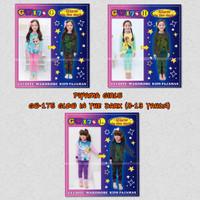 Harga piyama anak perempuan piyama gw 175 glow in the dark 8 13 tahun | Pembandingharga.com
