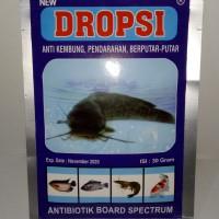 Dropsi Ikan 30gram - Anti Kembung, Pendarahan, Berputar-Putar