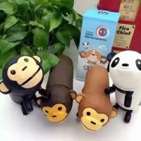 Jual Termos Karakter Panda Monyet Hot and Cool Stainless Steel Food Grade Murah