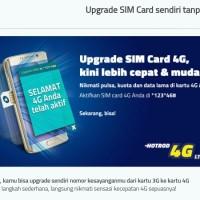 Perdana XL Ready Upgrade 4G Lte (Segel), Upgrade XL sendiri - OTA