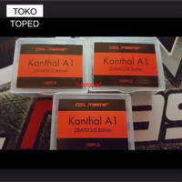 TT645 Authentic Coil Master Pre-built Kanthal A1 0.5 ohm | 24 awg toko