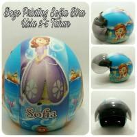 Helm Anak, Helm Bogo Anak Retro Sofia Biru