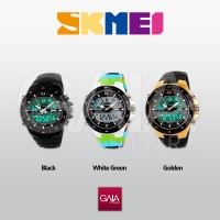 Jam Tangan Casio Men Sport LED Watch Water Resistant 50m - SKMEI 1016